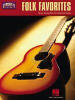 Folk Favorites Sheet Music Strum Along With 42 Traditional Songs Strum 000699517