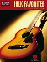 Folk Favorites Sheet Music Strum Along With 42 Traditional Songs Strum 000699517