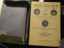 Série des Prix pour le Bâtiment-Tome II-1949