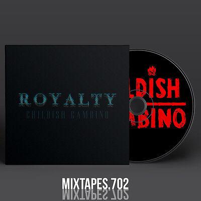 Childish Gambino - Royalty Mixtape (Full Artwork CD Art/Front Cover/Back Cover)