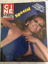 Ciné Revue 49 du 6 décembre 1979  : Antonella LUALDI - Jean Paul BELMONDO