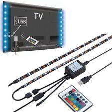 """2X19.7"""" USB Powered LED Strip Light TV Background Lighting for Flat Screen HDTV"""