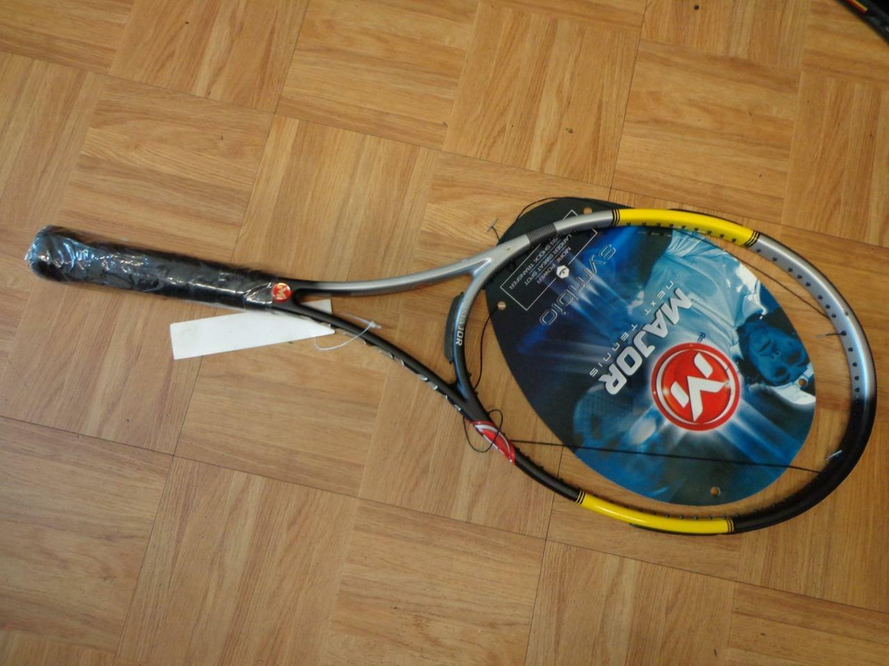 NEW Major Tecnifibre Bullit Symbio Midplus 16x19 4 3 8 grip Tennis Racquet