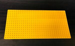 4204 Genuine Lego Base Plate Building Board Thick 8 x 16 Studs Yellow