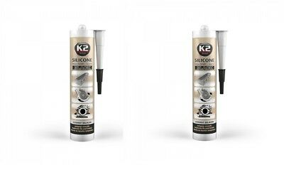 350° Schwarz 300g Baustoffe & Holz 2x K2 Silikon Silikon Hochtemperatur Dichtmasse Sonstige