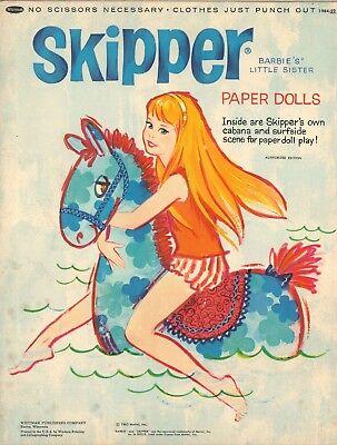 VINTAGE 1963 BARBIE KEN MIDGE PAPER DOLL HD LASER REPRO LO PRICE~HI QUAL~LO PR