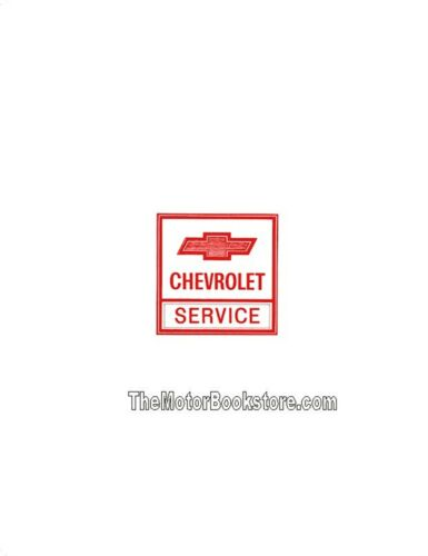 Camaro 1973 Chevrolet Service Manual: Chevelle Nova Monte Carlo Corvette