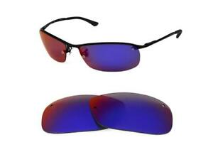 5c2c617f2b NEW POLARIZED REPLACEMENT LIGHT +RED LENS FIT RAY BAN RB3183 63mm ...