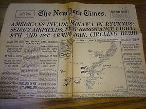 of okinawa newspaper Battle
