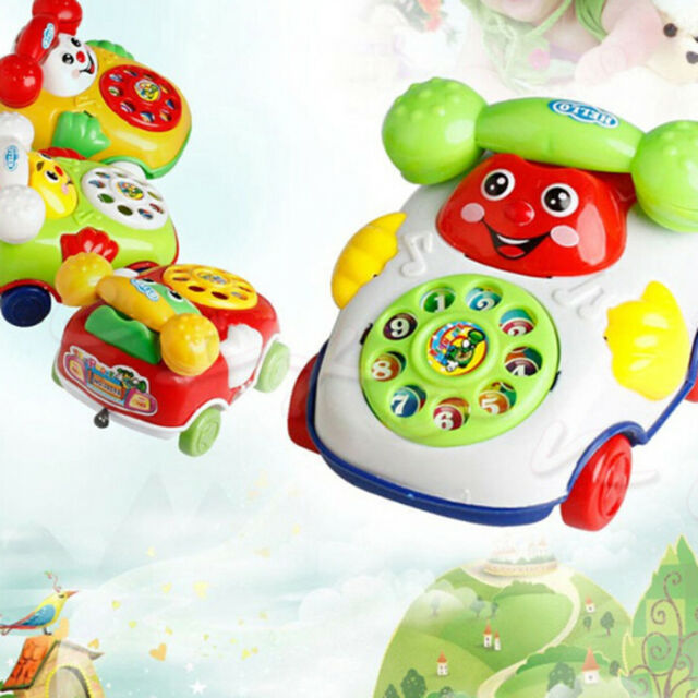 1Pc baby toys music cartoon phone educational developmental kids toy gift PVCA