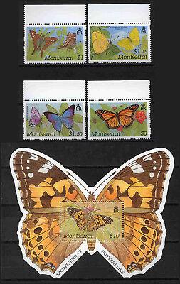 Realistisch Montserrat 1171-1174+block 91 ** (10516) Privatverkauf - Keine Rücknahme, Umtaus