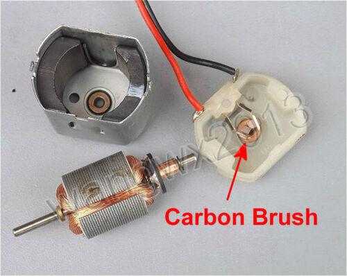 1PCS DC12V Sweeper Brush Sweeping Robot Motor Motor Carbon Brush 280 Gear Motor
