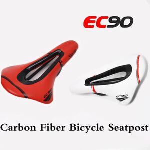 MTB Road Bike Bicycle Riding Saddle Carbon Fiber Seat Cushion Pad Replacement GL