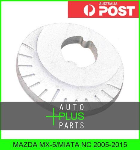 Eccentric Flat Washer Camber Adjust Plate Fits MAZDA MX-5//MIATA NC 2005-2015