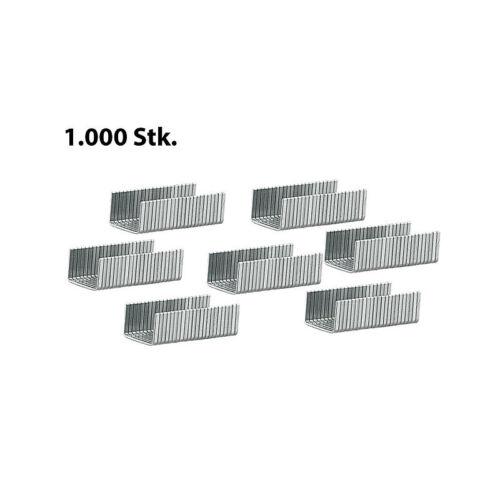 Hammertacker Tacker-Zubehör 5.000 Heftklammern mit 6 mm Breite und 8 mm Länge