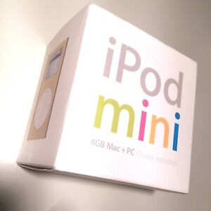 Apple ipod Mini 4GB (gold) 1. Generation mit box-MP3 Player - over a 1000 songs