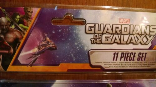 Marvel Guardians of the Galaxy 11 Piece Stationery Set Brand New
