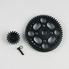 Steel 56T Spur Gear & 18T Pinion FOR HPI ROVAN BAJA BUGGY 5B 5T 5SC KING MOTOR