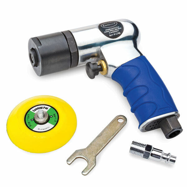 Eastwood 3 inch Pistol Grip Mini Air Sander For Auto Polish & Buff job Body Work. Buy it now for 48.99