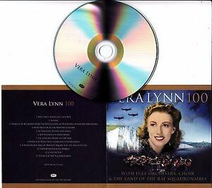VERA-LYNN-100-UK-12-track-promo-test-CD-Alfie-Boe-Aled-Jones-Alexander-Armstrong