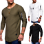 New-Men-039-s-Slim-Fit-Hoodie-Long-Sleeve-Muscle-Tee-T-shirt-Casual-Tops-Blouse thumbnail 4