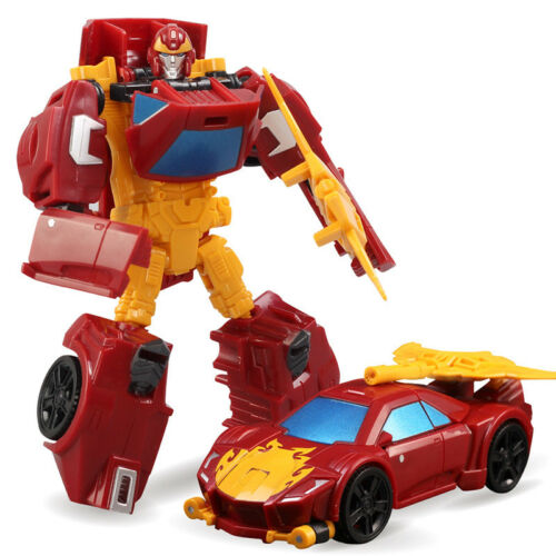 MENGBADI Flame Knight Hot Rod Commander Level Classical Robot New in Box