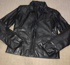 Ladies COTTON ON leather Look Jacket. Size L Fit m -L.