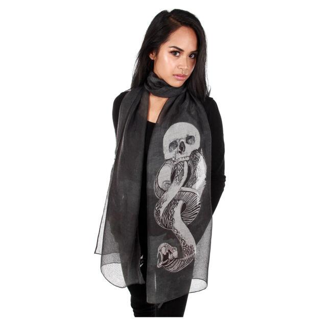 Adult Child Harry Potter Voldemort Death Eater Dark Mark Scarf Slytherin Gift