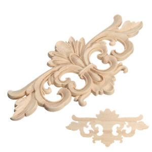 Image Is Loading 1pc Wood Onlay Frame Corner Lique Decals Diy