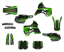 KX 500 KX500 graphics for Kawasaki 1994 - 2002 sticker kit NO3333 Green