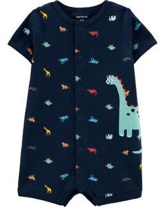 NWT $34 Infant Boys CARTER/'S 4-Pc Mix /& Match Pajamas Sets Dinosaurs  6 months