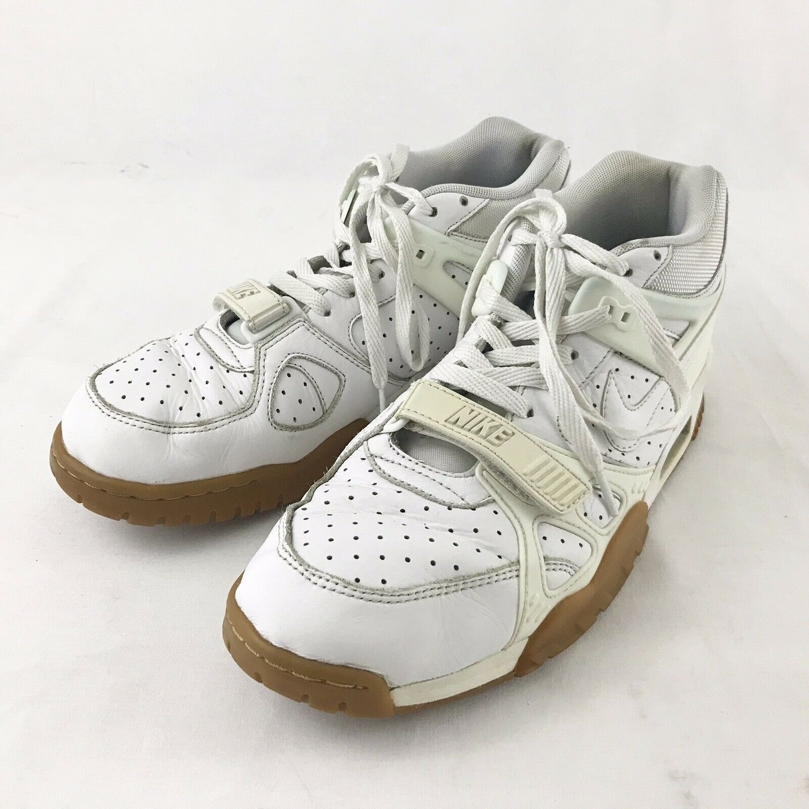 Nike Air Trainer 3 shoes Mens Size 12 705426-100 Bo Jackson Off White Gum Sole