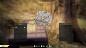 Details about Fallout 76 (PC) Tattered Field Jacket [RARE OUTFIT]
