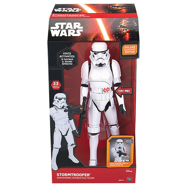 Star Wars Stormtrooper Interactive figure 44 cm NEW in box
