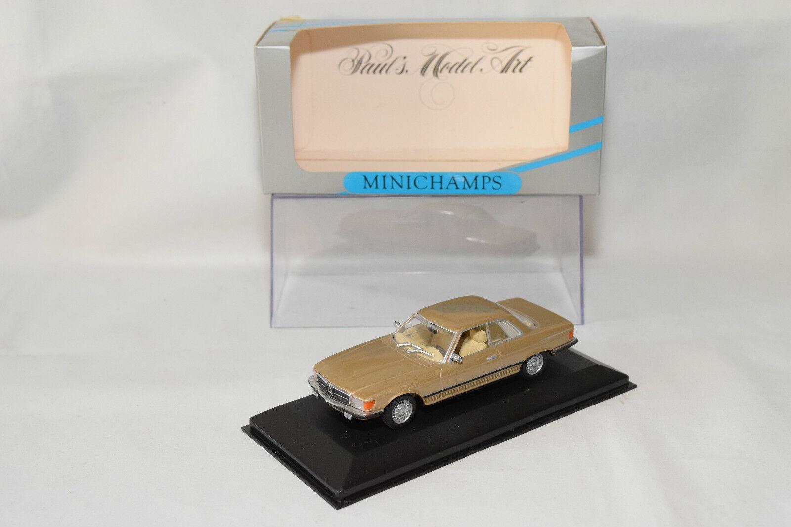 . MINICHAMPS MERCEDES BENZ BENZ BENZ 450 SLC 450SLC 1972 1980 MET. oro MINT BOXED 951463
