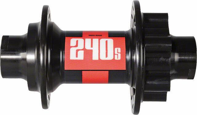 Dt Swiss 240S Buje Delantero 32h 20mm Eje Pasante 6Bolt Disco