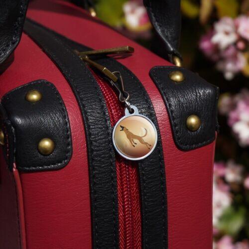 Belgian Malinois Dog Bite Training Jacket Handbag Purse Zipper Pull Charm