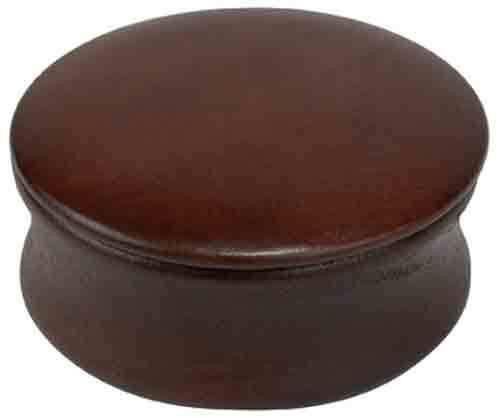 Kingsley Natural Wood Shave Soap Bowl #SB-Bowl Dark