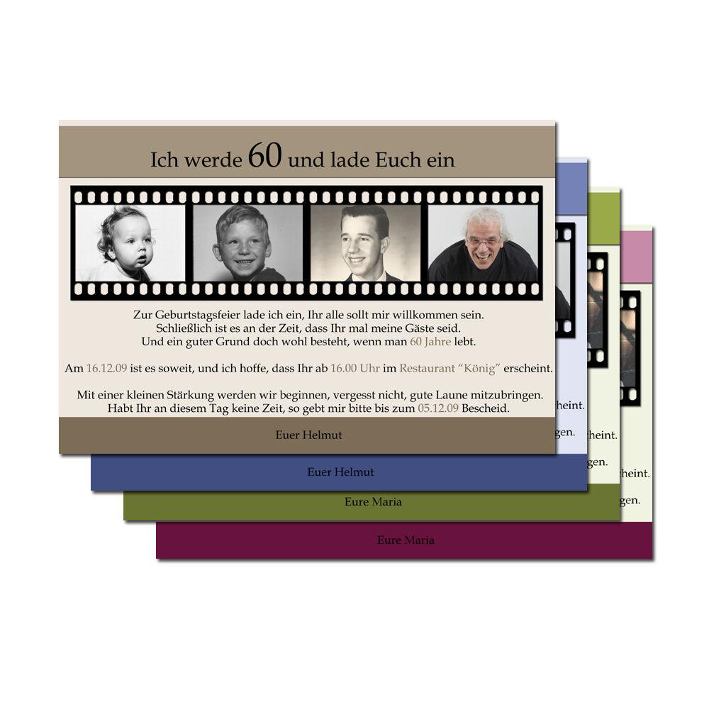 50 x Einladungskarten Geburtstag Einladung mit Foto personalisiert Karte  KuGrün   | Spielen Sie auf der ganzen Welt und verhindern Sie, dass Ihre Kinder einsam sind  | Sale Online