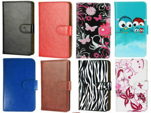 pretty nice 82c9e 863fd Details about Slim Premium Mobile Phone Flip Case For Cubot J3 - 360 PU  Leather L
