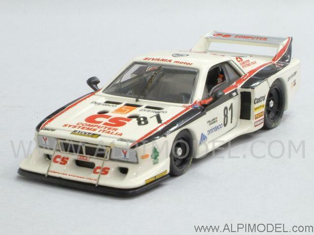 Lancia Beta Turbo Monza 1982 Casoni - Castellano 1 43 BEST 9349