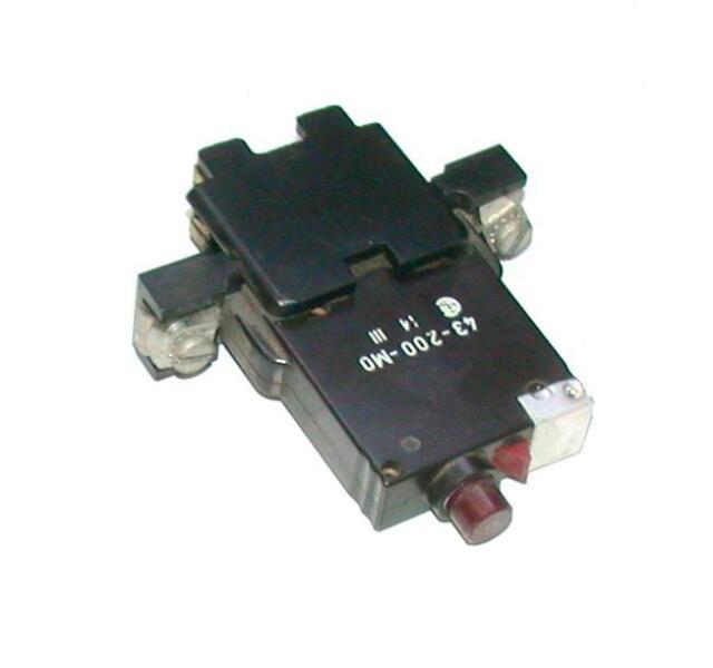ETA 1.8 AMP 250VAC CIRCUIT BREAKER SWITCH E-T-A 41-10-P10 Ten