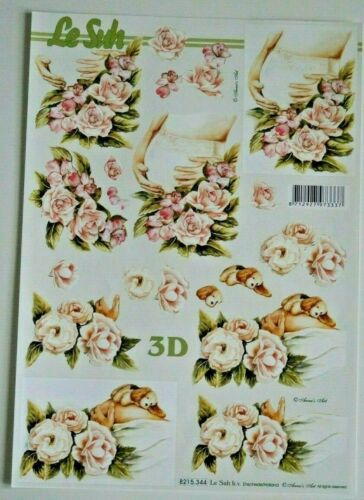 "3D Etappenbogen Bastelbogen Motivbogen DINA 4 Le Suh verschiedene Motive /"" 101 /"""