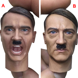 1//6 Scale WWII German General Head Carving Heads Of State Head Sculpt 2 Style