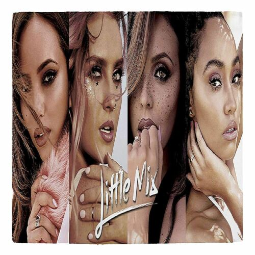 Little Mix Printed Luxurious Reversible Duvet Cover Bedding Set Single Double
