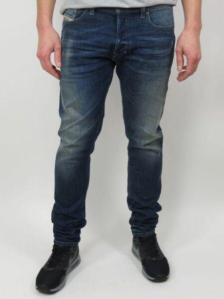 Diesel Men's Jeans Tepphar - Wash 0833F - Denim bluee - bluee +NEW+
