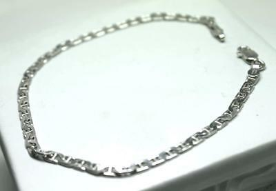 Sterling Silver 0.6mm Fancy Heart Link Anklet