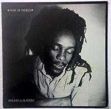 SINGERS & PLAYERS vinyl LP ❂ War Of Words ❂ 99 records BIM SHERMAN PRINCE FAR I