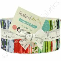 Moda Hazelwood Jelly Roll Fabric One Canoe Two 40 2.5x44 Quilting Quilt Strips on sale