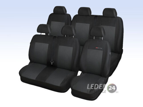 Vauxhall Vivaro II Bus 9 Seats Double not Divided Dimensions Covers 2014-2019